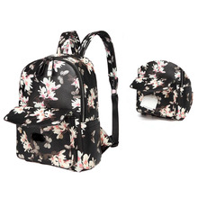 Mummy bag printing multi-function large-capacity shoulder can be used to stroll baby fashion pregnant diaper
