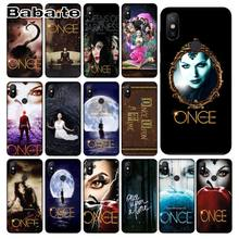 Coque for redmi 7 once upon a time DIY Painted Phone Accessories Case For redmi 7 5plus 5A 6pro 4 note5A note6pro note7 cover(China)