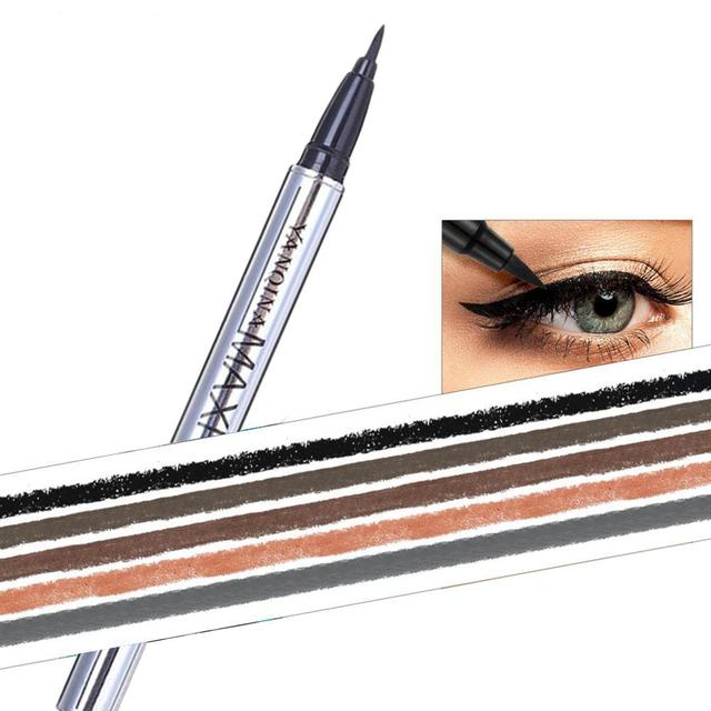 1 pcs Ladies Black Liquid Eyeliner Long-lasting Waterproof Eye Liner Pencil Smudge-Proof Cosmetic Beauty Makeup Liquid 5