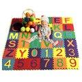 36 Teile/satz von Alphanumerische Muster Baby Spielen Matte kinder Pädagogisches Spielzeug kinder EVA Schaum Yoga Krabbeln Matte Boden playmat