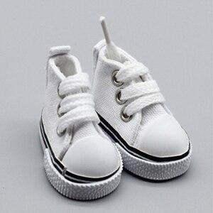 4 см кукла обувь джинсовые кроссовки для куклы BJD, модные джинсовые парусиновые мини игрушки обувь 1/6 Bjd для куклы ручной работы 101