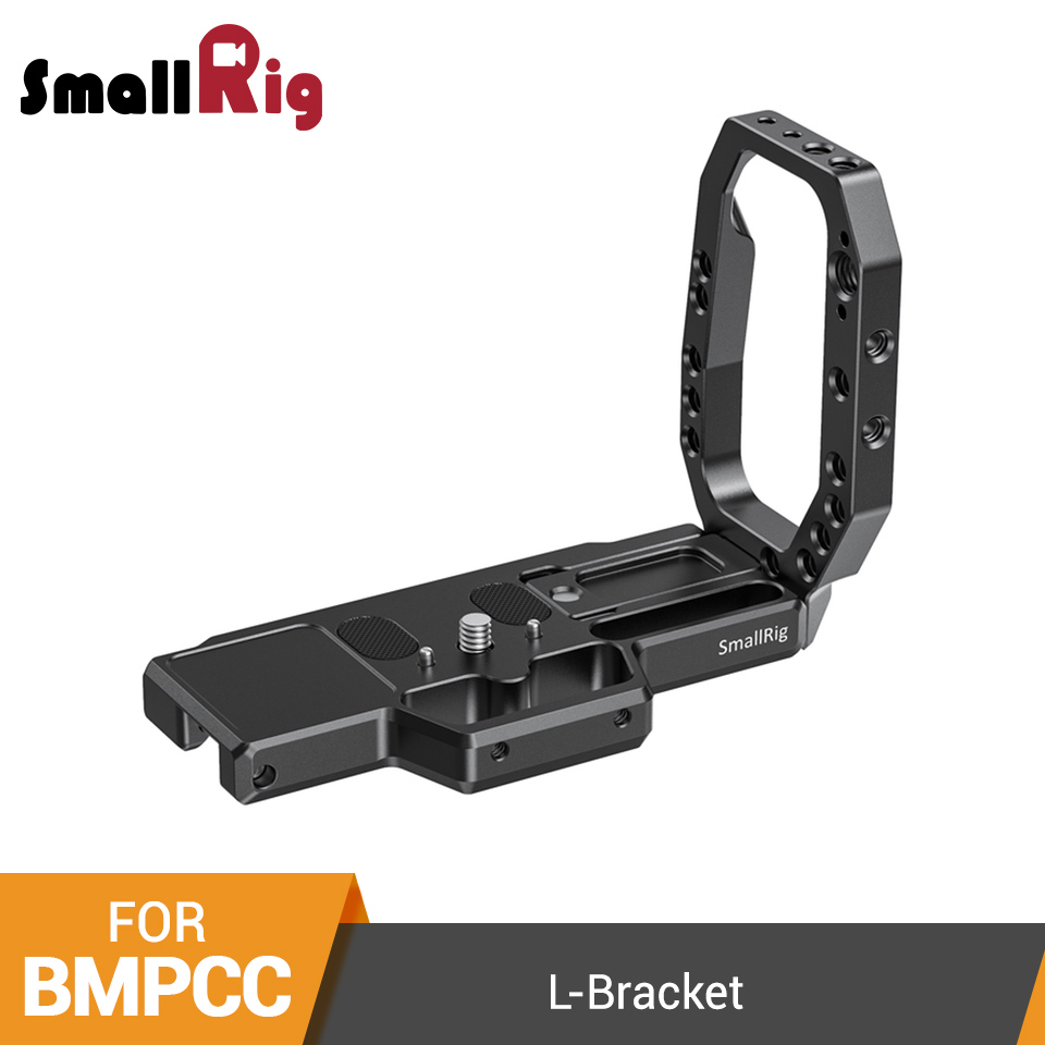 SmallRig L Bracket Plate For Blackmagic BMPCC 4K 6K Quick Release L-Shaped Plate Video Shooting Camera Mounting Plate - 2635