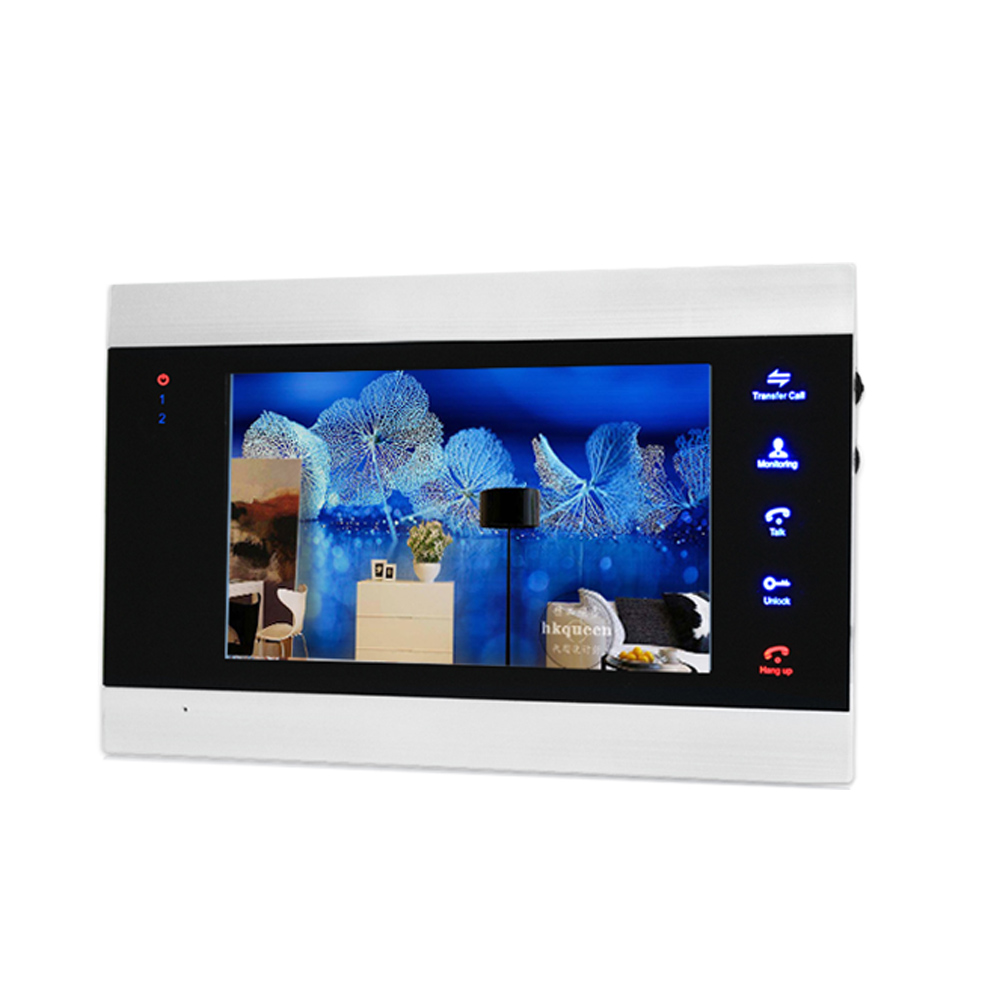 Homefong WIfi Video Door Phone Wireless Video Intercom CVBS/AHD720P Motion Record Unlock