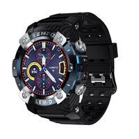 LEMFO LEMD TWS Bluetooth Earphone Smart Watch 360*360 HD Screen Sport Smart Watch Men For Android IOS