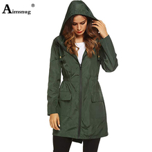 2019 Spring Autumn Women Coats Slim fit Wild Hooded Windbreaker Woman Fashion plus size S-2XL Solid Color Couples