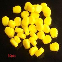 100 Stücke Gelb Weichen Mais Schwimmköder Grob Karpfen Angeln lockt Werkzeug