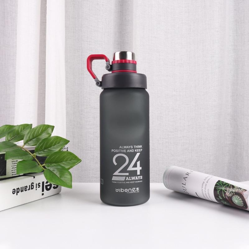 H14e4591a63ad445fbb9f19cec8f2ed4fs Kettle 850ML large capacity plastic water dispenser travel student outdoor sports school portable scrub leak cup drinking bottle