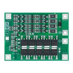 Image 5 - Batería de litio de iones de litio 3S 4S 5S, cargador 18650 BMS 25A 30A 40A 60A 100A, tablero de protección con Balance para Motor de taladro