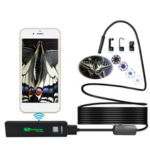 1200P HD WiFi Connection USB connection Endoscope Inspection 2/3.5/5/7/10m LED Snake Camera for Apple for iOS for Android iP(China)