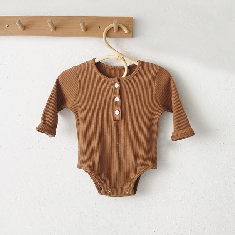 brown romper