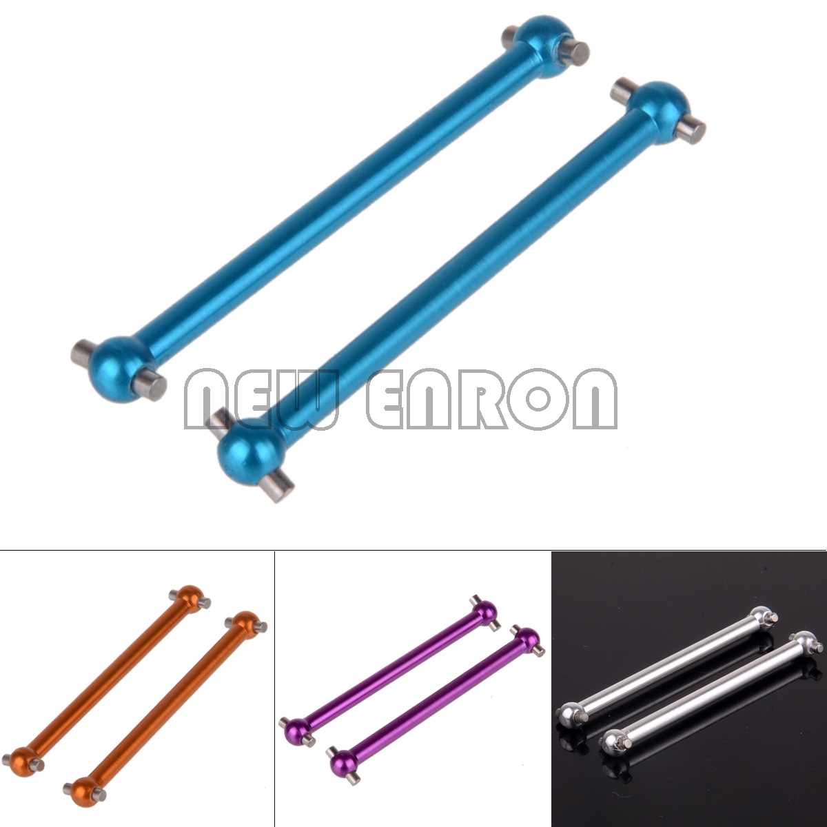 NEW ENRON 2P Aluminum 52mm F/R Dogbone 580027 RC Car 1/18 Buggy Monster Truck HIMOTO HSP