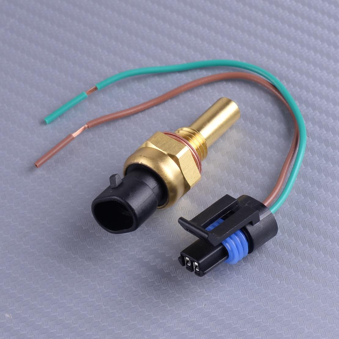 Engine Coolant Water Temp Sensor Temperature Sender Fits GMC Pontiac Saab Saturn