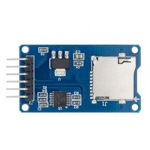Image 1 - 100 Pcs 高品質の良いマイクロ Sd ストレージボード TF カードリーダーカードメモリシールドモジュールの Spi