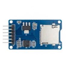 100 pièces de haute qualité bon Micro SD carte de stockage TF carte lecteur mémoire bouclier Module SPI