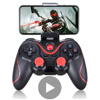 Bluetooth Joystick for Cell Phone Gamepad Android iPhone PC Mobile Smartphone Trigger Game Pad Controller Control Gaming Stick flydigi x9etpro bluetooth wireless game gaming controller gamepad for iphone for android aa battery control joystick