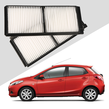 1 pcs fresh air filter for Mazda 2 2007 (D651-61-J6X) White Renault Kadja 2016 car styling external air filter image