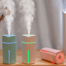 Car Air Humidifier Diffuser USB Ultrasonic Cool Mist Aroma Essential Oil Difusor Colorful LED Lamp Aromatherapy Humidificador