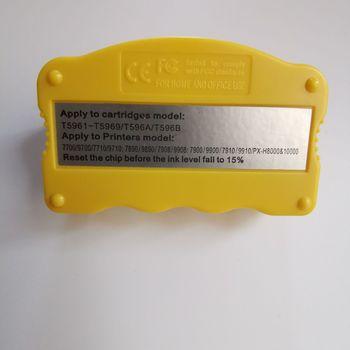 Układ zasobnika z tuszem Resetter do Epson Stylus Pro 7700 9700 7710 9710 7890 9890 7908 9908 7900 9900 7910 9910 resetowania kasety