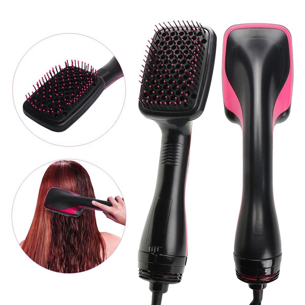 & volumizer styler pente quente alisador de viagem secador de cabelo