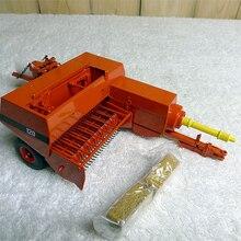 Специальное предложение тонкой 1:32 трактор аксессуары RE 130 120 соломы пресс-подборщик сельскохозяйственная модель автомобиля сплав коллекция