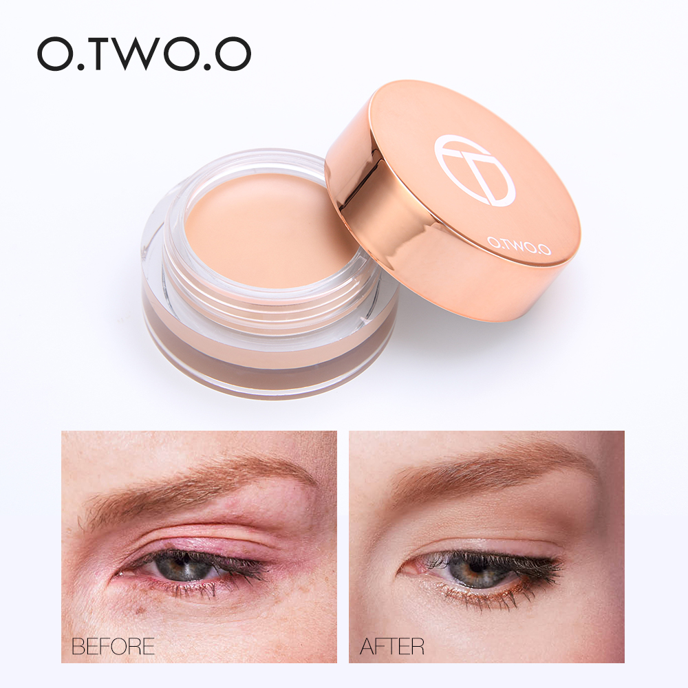 O.TWO.O Eye Primer Concealer Cream Makeup Base Long Lasting Concealer Easy to Wear Cream Moisturizer Oil Control Brighten Skin image