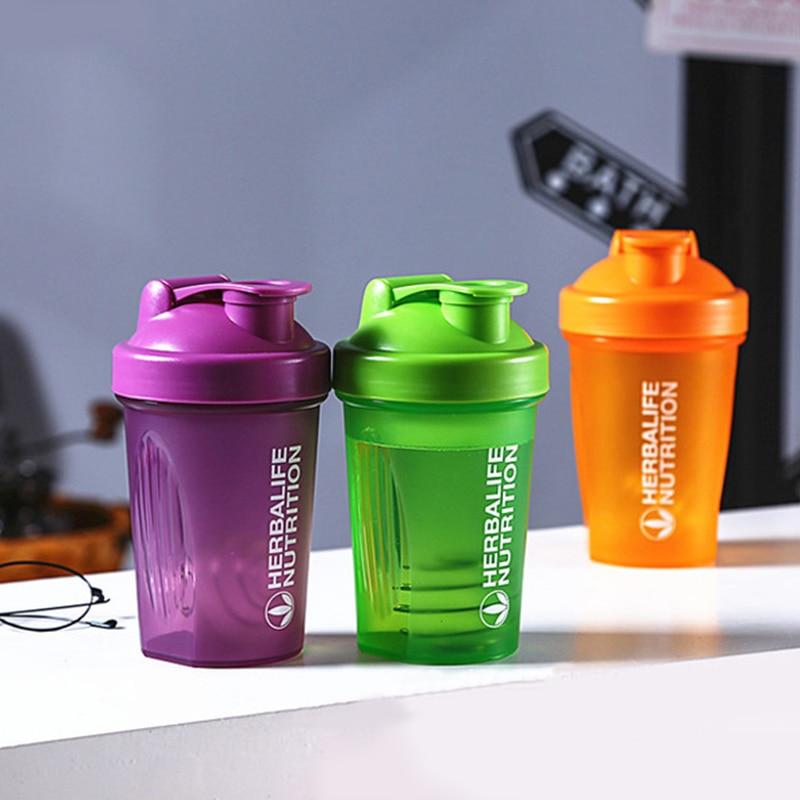 Protein Powder Shaker Milkshake Shake Cup Bottle Plastic Water Bottles My Sports Fitness Drink Tumblerful Hidro Flask Drinkware