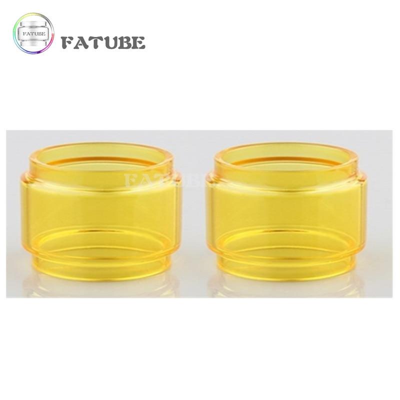 2pcs FATUBE Rainbow colour Bubble Glass TUBE for ZEUS X MESH/Zeus Dual RTA 4ml/ZEUS X 4.5ml/Zeus Sub Ohm Tank 5ml 4