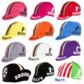Ретро Классические Новые велосипедные кепки с линиями цветов от бруклэна OSCROLLING
