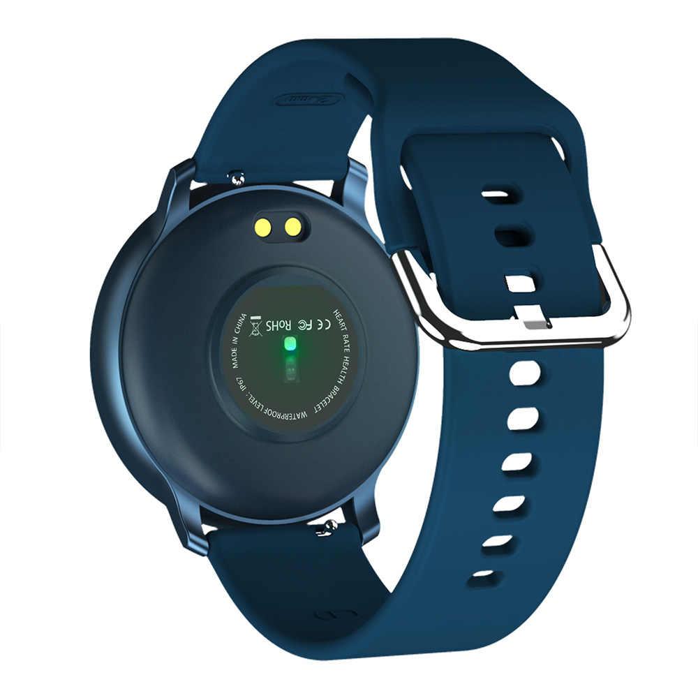 Bakeey X9 1,3 дюймовый цветной экран Автоматический монитор кровяного давления сердечного ритма ультра-легкий уникальный дизайн ремешка Смарт-часы фитнес
