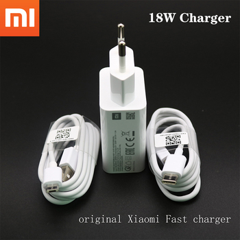 100% Original xiaomi Mi9 SE 18W fast wall charger QC3.0 fast charger adapter 100cm USB 3.1 data cable for MI 9 SE 8 6 mix 2 2S 3 1