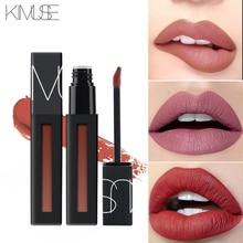 KIMUSE Nude Matte Liquid Lipstick Waterproof Moisturizer Lip Stick Long-lasting