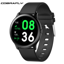 Cobrafly KW19 Smart watch with Heart rate monitor Men Sport Smartwatch Message Reminder Fitness Tracker For Android IOS  xiaomi