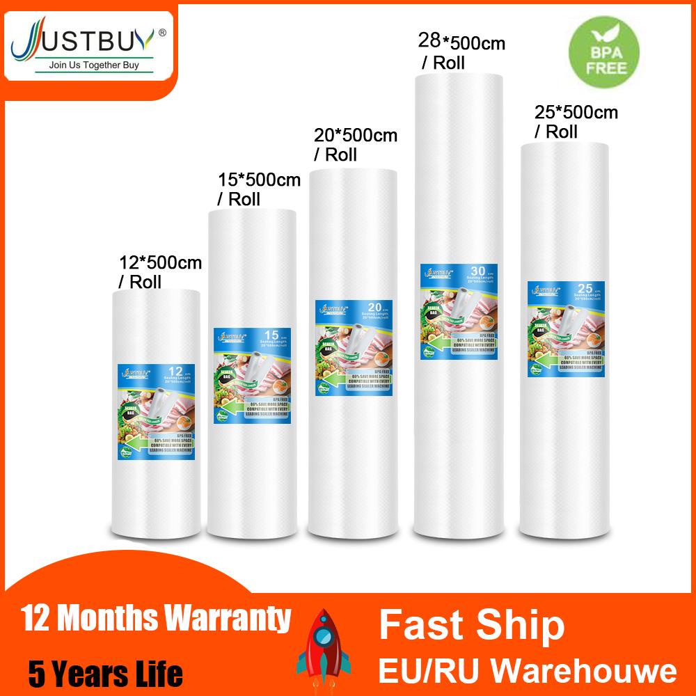 BPA FREE Food Vacuum Bag Storage Bags For Vacuum Sealer Food Fresh Long Keeping 12+15+20+25+28cm*500cm