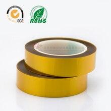 Двухсторонняя клейкая лента 5-25 мм* 20 метров толщиной 0,1 мм выдерживает температуру Полиимидная Пленка для печатной платы SMT трансформатор двигателя