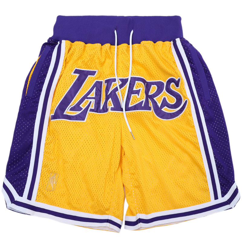 2018 Europe And America Popular Brand Autumn And Winter New Style Men'S Wear American-Style Basketball Sports Lakers Embroidered