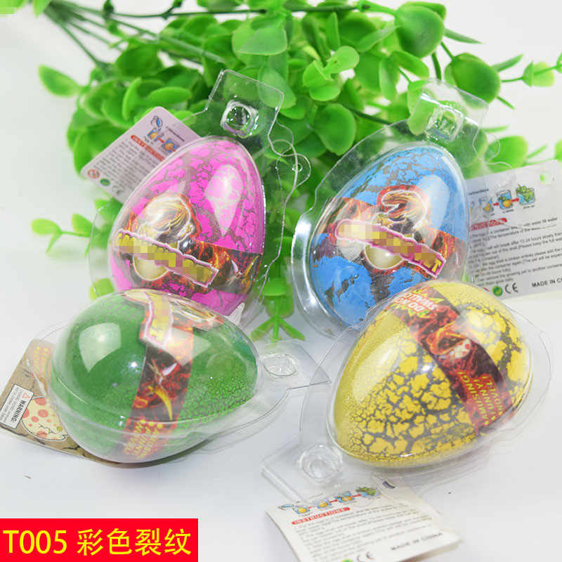 1pcs Big Size Colorful Dinosaur Eggs Hatching Growing Dinosaur Baubles Add Water Grow Funny Toys Children Kid Gift Magic Egg
