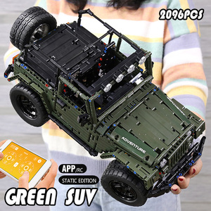 Image 5 - Mould King MOC Technic RC Jeeps Wranglered Adventurer Off road truck model building blocks Bricks kids Toys boys Birthday gifts