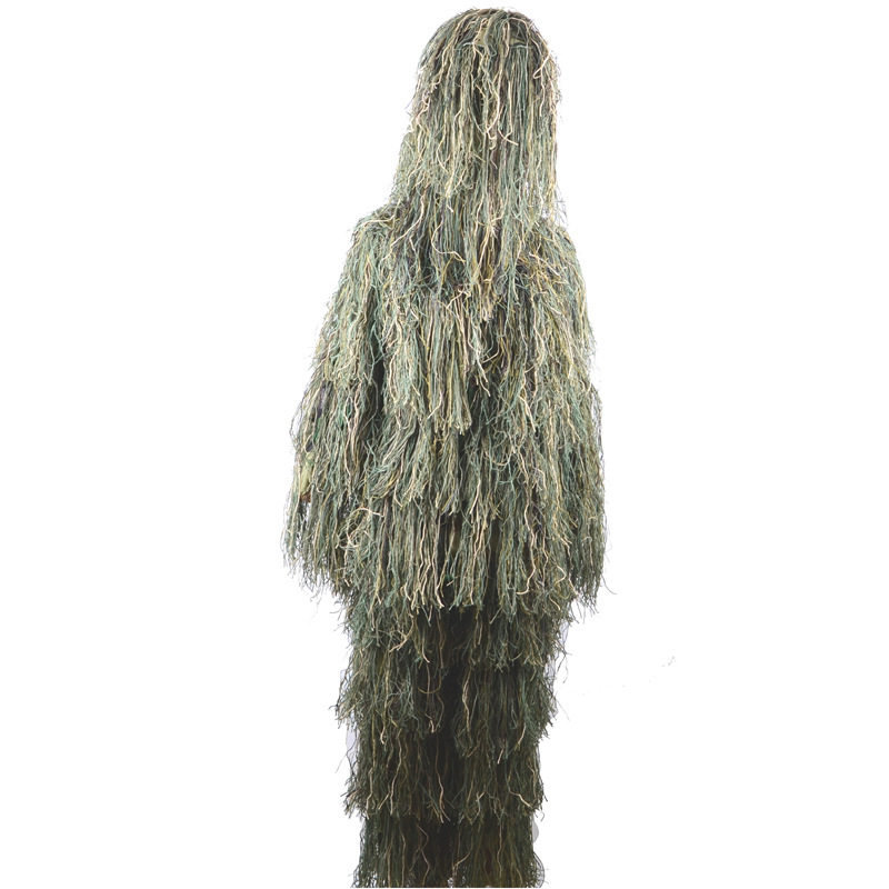 Children Filament Camouflage Ghillie Suit Camouflage Garment Hunting Bird Watching Counter Strike Cosplay