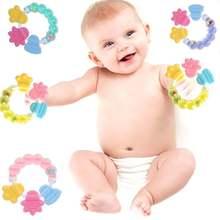 Детские погремушки игрушки ручные колокольчики Прорезыватель