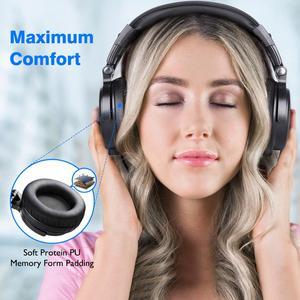 Image 3 - Oneodio Trên Tai Bluetooth Tai Nghe Âm Thanh Nổi Có Dây Tai Nghe Không Dây Bluetooth Tai Nghe 5.0 Với CVC8.0 Mic Cho Điện Thoại AAC Mã