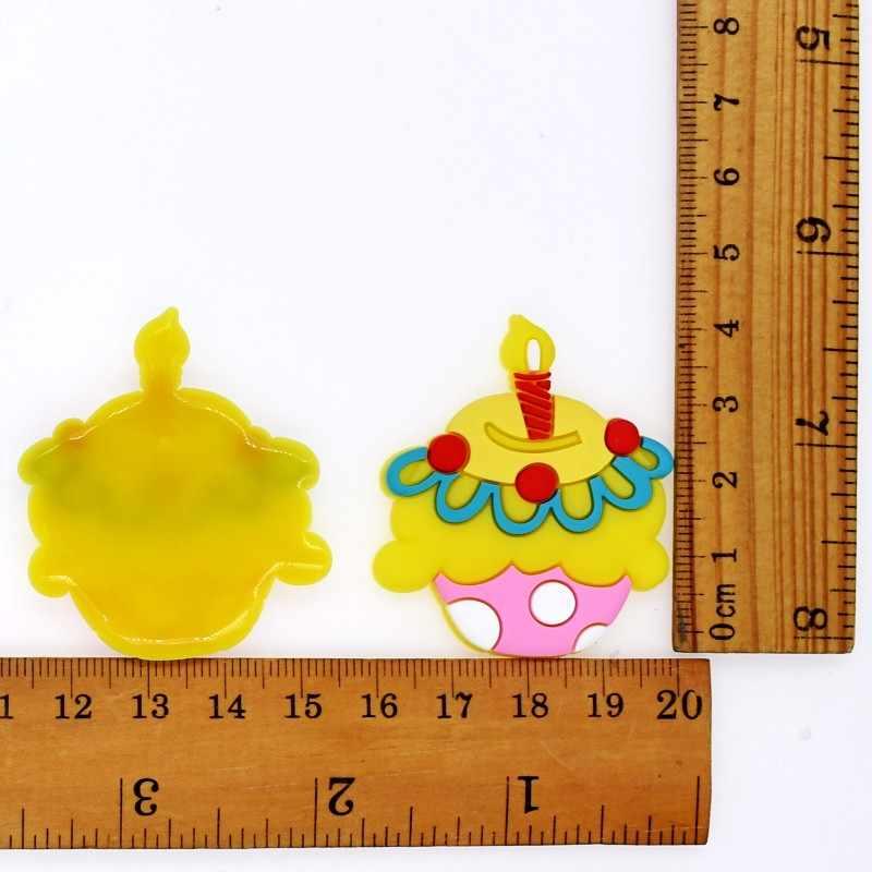 10 pcs DIY גדול גודל יום הולדת עוגות עוגות קרח קרם Lollipop בנות נשים תיק ילקוט בגדי תפר תפירת תיקוני
