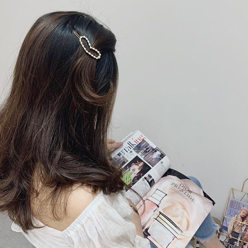Hair Sticks Pins Silver Alloy Geometric Headbands Lady Hair Clip Accessories PPU