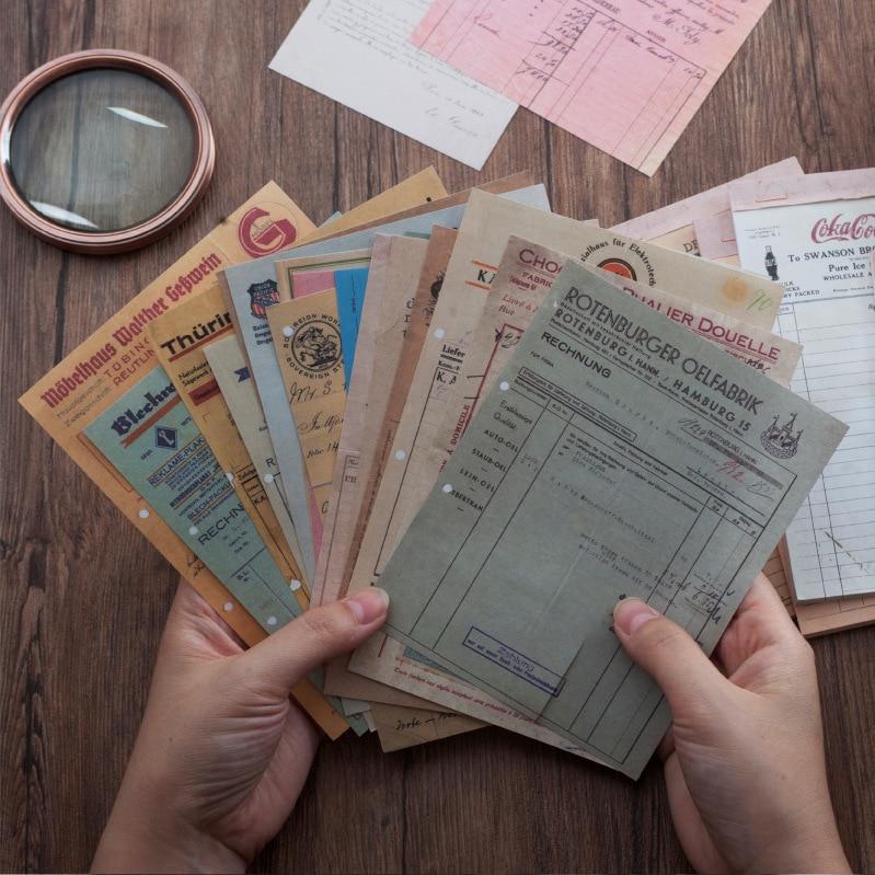 Ретро бумажные чеки, серия купюр, блокнот для записей, Липкие заметки, школьные канцелярские принадлежности, Закладка для книг, стикер