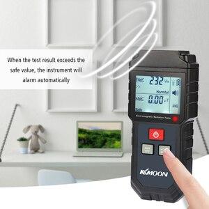 Image 2 - Electric Field Magnetic Field Dosimeter Detector Digital LCD Household Electromagnetic Wave Radiation Detector Meter EMF Tester