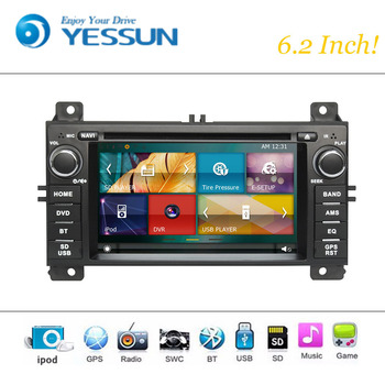 Car DVD Player Wince System For Jeep Grand Cherokee 2012-2016 Autoradio Car Radio Stereo GPS Navigation Multimedia Audio Video image