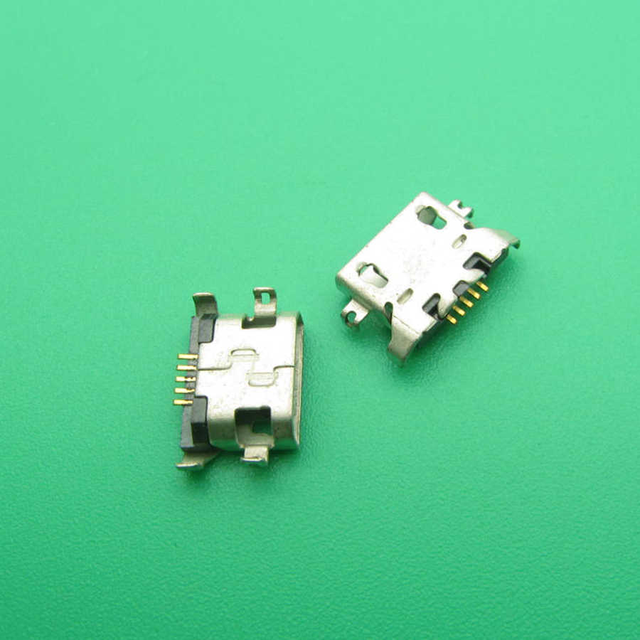 Cable Length: 50 pcs Cables 2-100x Micro USB Connector for Huawei C8813 C8813Q C8813D Y300 U9508 G510 G520 Micro USB Jack DC Charging Socket Connector
