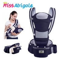 MissAbigale Ergonomic Backpack Baby Carrier Infant Baby Hipseat Sling Kangaroo Baby Wrap Carrier for Baby Travel 0 36 Months|Backpacks & Carriers| |  -