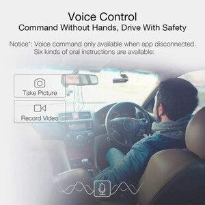Image 3 - 70mai traço cam carro dvr wifi app controle de voz 70 mai traço cam 1s fhd 1080p visão noturna câmera do carro gravador de vídeo automático g sensor