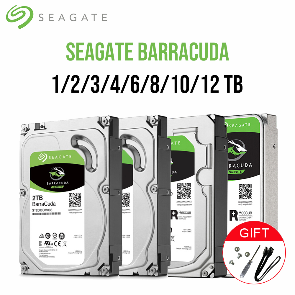 "6TB Seagate Barracuda Desktop Hard drive internal 3.5/"" SATA III ST6000DM003"