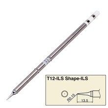 1 x punta per saldatore T12 BC2/J02/JL02/KR/ILS punte per saldatore per stazione di rilavorazione di saldatura ca. 150mm;